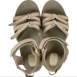 Teva Tirra Strappy Water Sandals Metallic Pink 9